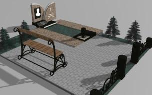 Проект гранитного памятника