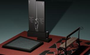 установка памятника на могилу