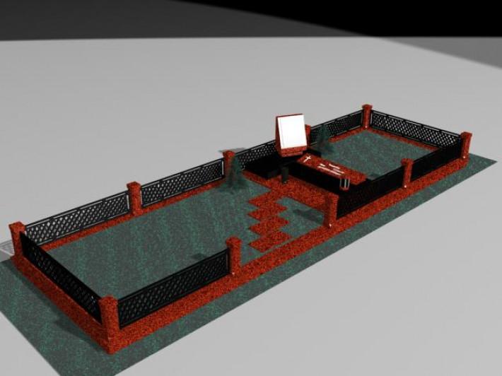 Изготовление 3D памятников